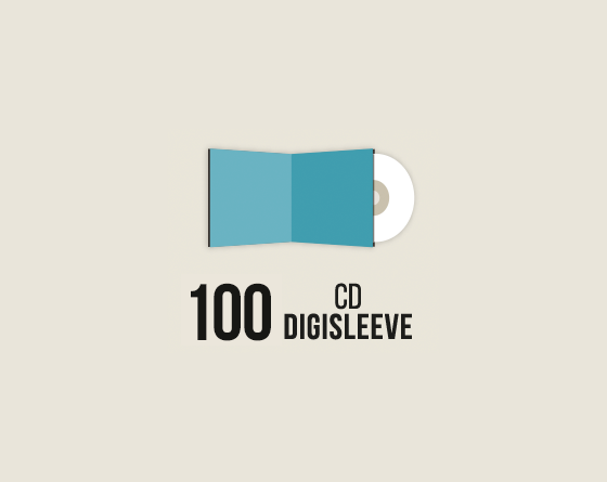100 CD Digisleeve